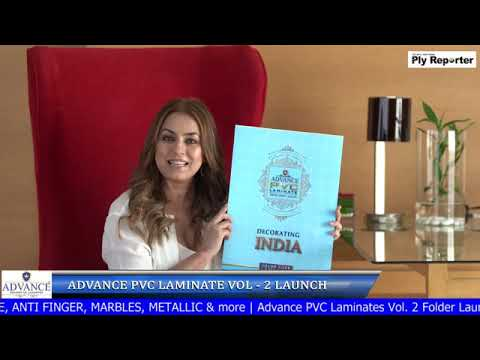 LIVE! Advance PVC Laminate Vol-2 Folder Launch | PLY REPORTER