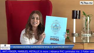 LIVE! Advance PVC Laminate Vol-2 Folder Launch | PLY REPORTER