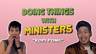 Kopi Pong with Minister Grace Fu | Doing Things With Ministers