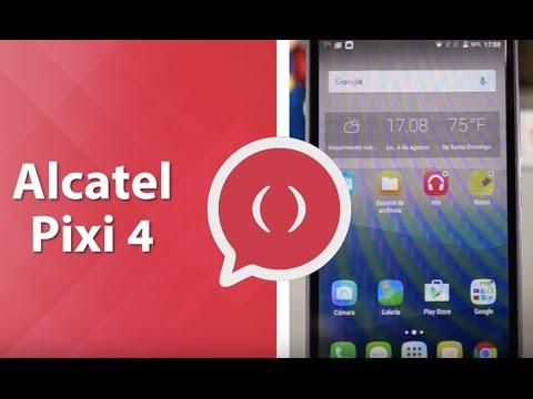 Alcatel Pixi 4, gran tamaño a precio bajo. Review en español