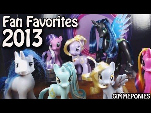 My Little Pony: Toys R Us Fan Favorites - Chrysalis, Derpy, Diamond Tiara, Lyrica Review