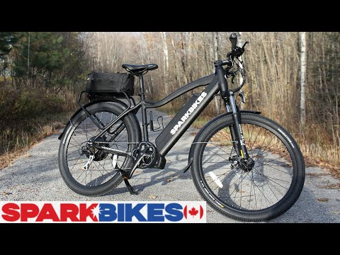 """Spark"" E Bike – 500 Watt Electric Bicycle – Unboxing / Setup / Test Drive / Review (Written)"