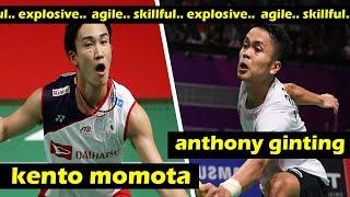 Great Badminton Match ! Kento MOMOTA VS Anthony GINTING (FULL)