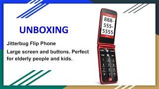Jitterbug Flip Phone (Perfect for elderly or kids)