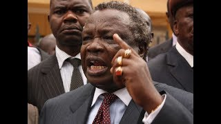 BREAKING NEWS: COTU SG Francis Atwoli reads a list of top mediators between NASA and Jubilee Party