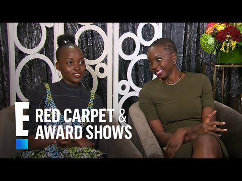 Lupita Nyong'o Talks Natural Chemistry With Chadwick Boseman | E! Live from the Red Carpet