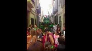 preview picture of video 'Arenys de Mar. Trobada de gegants'