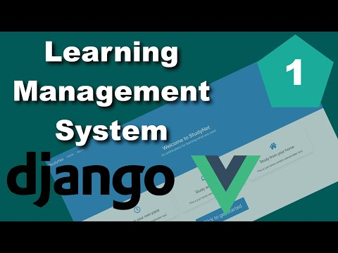 Django and Vue Learning Management System (LMS) Tutorial - Part 1 - Setting up the environments thumbnail
