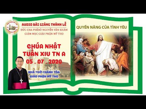 Đức Cha Phêrô suy niệm CN XIV TN A: QUYỀN NĂNG CỦA TÌNH YÊU