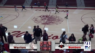 Winamac Girls Varsity Basketball vs Rensselaer Central