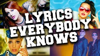Top 50 Songs Everybody Knows The Lyrics To
