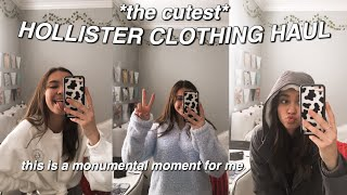 HOLLISTER CLOTHING HAUL (supa Cute Winter Clothes!)