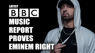 BBC Music Report Shows why many Believe Eminem is Irrelevant
