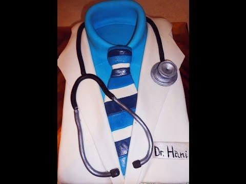 Как оформить торт для врача