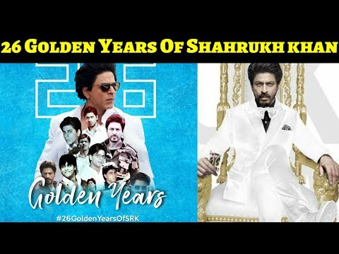 Congratulations Shahrukh Khan  For 26 Years In Bollywood! ! 26GoldenYearsOfKingKhan