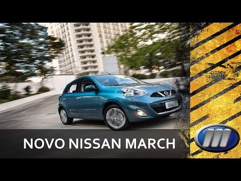 Nissan New March 2015 - @Motoreseacao