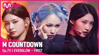 [EVERGLOW - FIRST] Comeback Stage   #엠카운트다운   Mnet 210527 방송