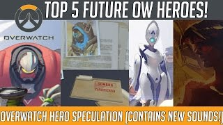 Overwatch - Top 5 Potential Future Heroes! (Soundquake, Athena and More!) | Hammeh