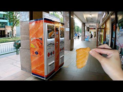 Sashimi Vending Machine