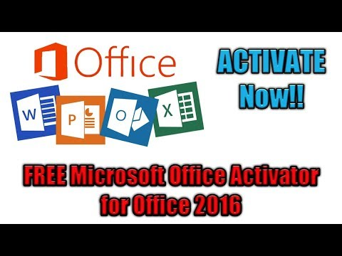 Activate Microsoft Office 2016 permanently, 100% Free Activator in Hindi (MS Office activation)