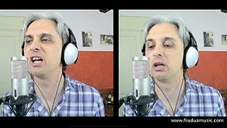 How To Sing a cover of Mean Mr Mustard Beatles Vocal Harmony
