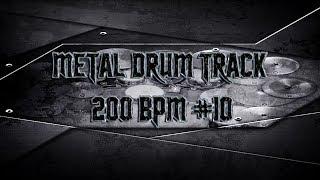 Double Bass Extravaganza Metal Drum Track 200 BPM | Preset 2.0 (HQ,HD)