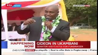 Senator Gideon Moi hosted by Kalonzo Musyoka in Ukambani
