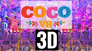 Disney Coco VR video SBS 3D Pixar Side by Side not 360°