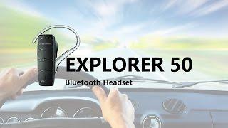 Plantronics Explorer 50 Bluetooth Headset (Unboxing)   WPLive