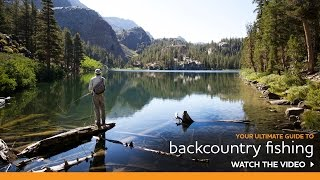 Your Guide to Backcountry Fishing near Mammoth Lakes