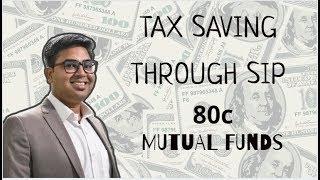 Tax Benefits through SIP under Sec 80c