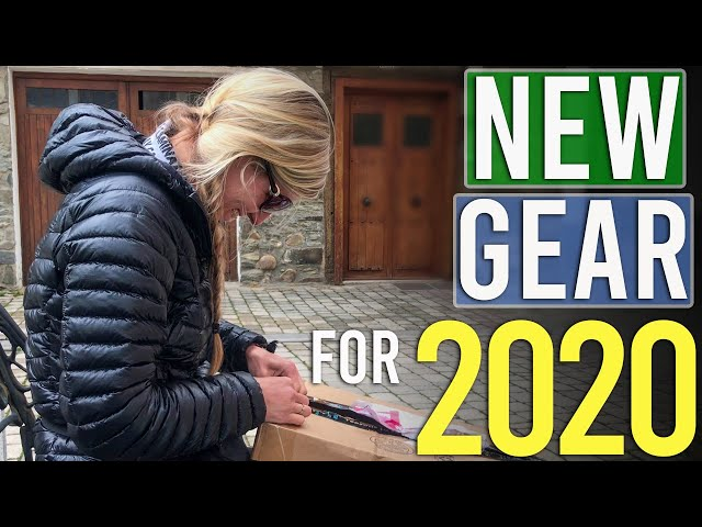 Backpacking Gear I'm Trying In 2020 (New Hammock, Poncho Tarp, Puffy Coat, Trail Runners, etc.)