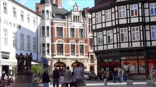 preview picture of video 'Quedlinburg Marktplatz 2014'