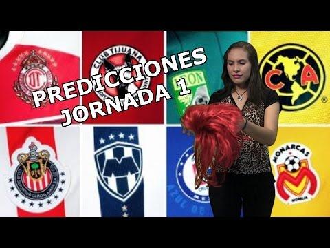 Crudaquiniela Predicciones Jornada 1 Futbol Mexicano