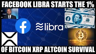 SECRET HIDDEN AGENDA! FACEBOOK LIBRA STARTS THE 1% OF BITCOIN XRP ALTCOIN SURVIVAL!