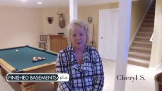 Commerce, MI Finished Basement | Cheryl S. Testimonial