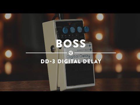 BOSS DD 3 Kytarový efekt