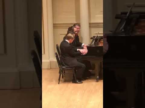 a short clip from my performance with some of the faculty of LMA at our Carnegie Hall staff concert