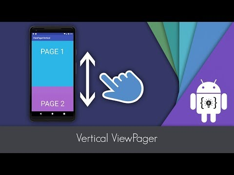 View Pager with Image Slider and Card Stack in Android
