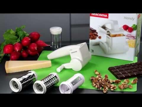 Video Tescoma HANDY multifunkční souprava struhadlo na sýr 2