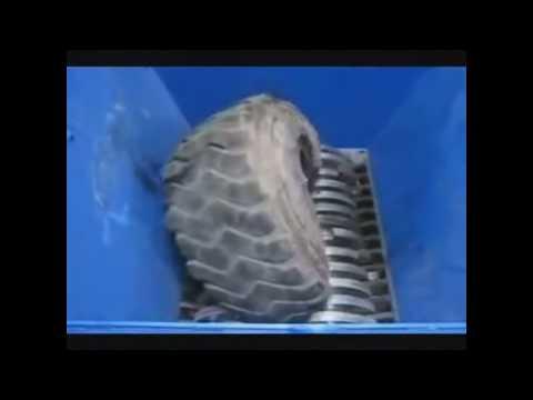 Um triturador gigante capaz de destruir tudo que coloca dentro dela, impressionante