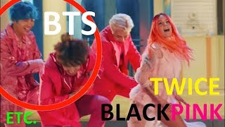 MISTAKES IN K-POP MUSIC VIDEOS PART 9 (BTS, BLACKPINK, TWICE, ETC.)