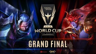 RoV : World Cup 2018 Day 7 - Grand Final