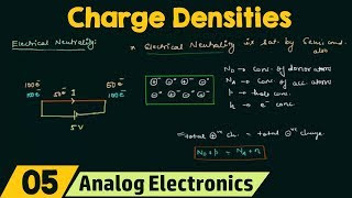Charge Densities in a Semiconductor