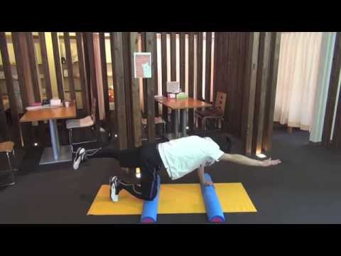 瞬発力を鍛える体幹トレーニング。 ダイアゴナルに挑戦(上級編アリ)