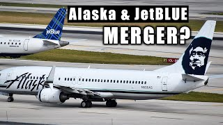 What if Alaska Merged with JetBlue?
