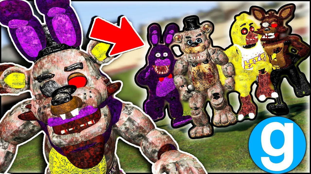 New Fazbear Twisted Ones Pill Pack Funny Moments - Garry's