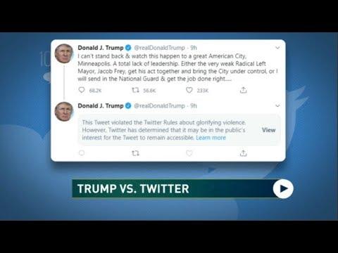 Trump VS Twitter: Social Media War Escalating