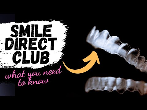 Smile Direct Club Vs Invisalign (Do I Need Buttons?) - YouTube