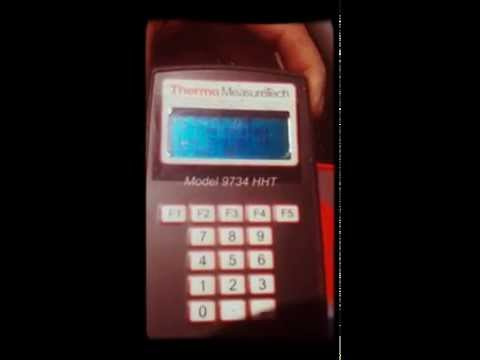 Densimetro calibracion Model 9734